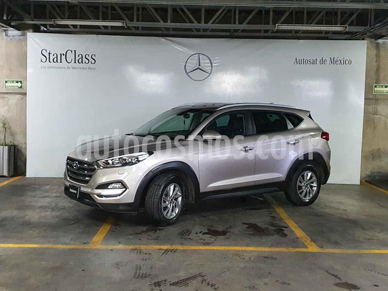 Hyundai Tucson Limited usado (2016) color Beige precio $259,000