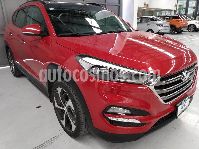 Hyundai Tucson Limited Tech usado (2018) color Rojo precio $364,900