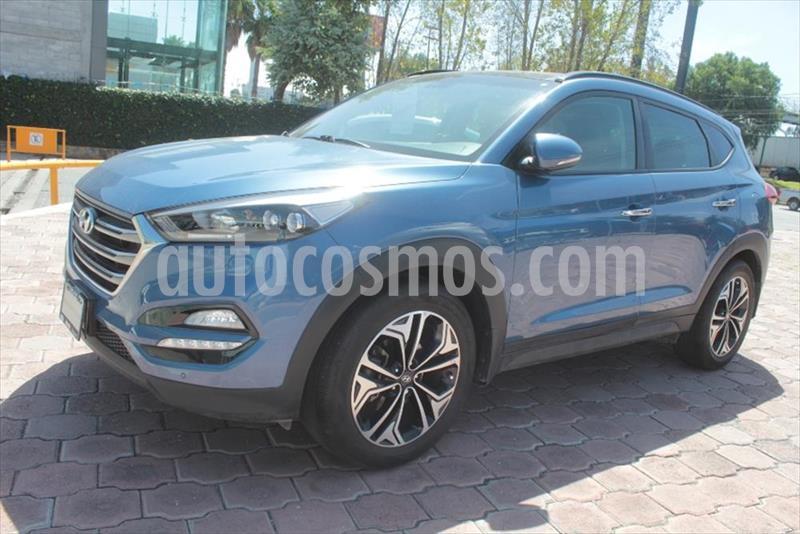 Hyundai Tucson 5P LIMITED TECH NAVI L4/2.0 AUT usado (2017) color Azul Electrico precio $330,000