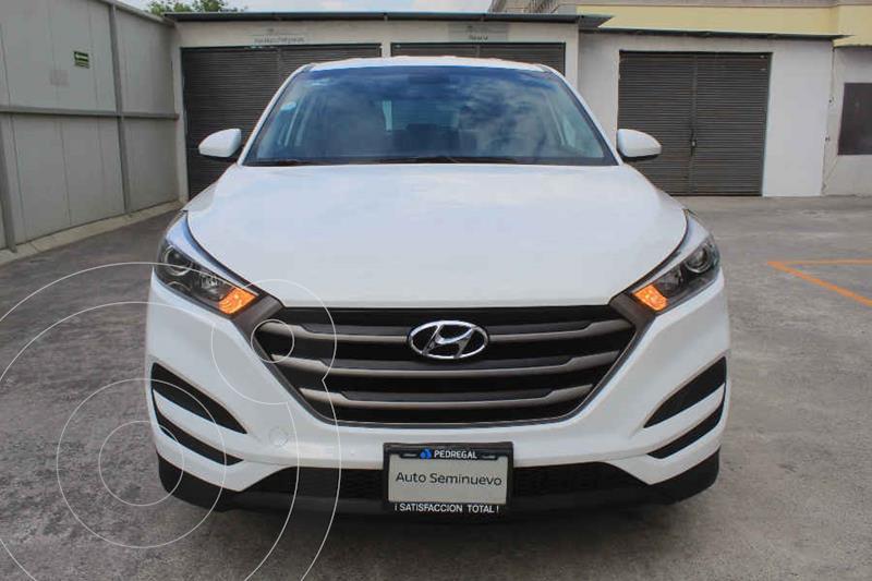 Hyundai Tucson GLS usado (2018) color Blanco precio $290,000