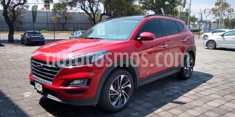 Hyundai Tucson Limited Tech usado (2019) color Rojo precio $440,000