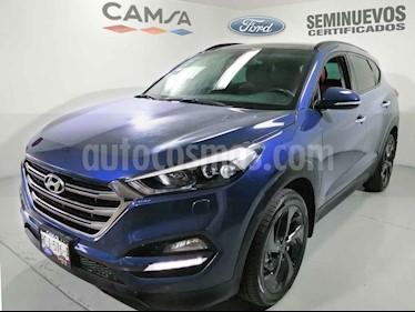 Hyundai Tucson Limited Tech usado (2018) color Azul precio $365,900