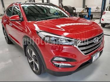 Hyundai Tucson 5P LIMITED TECH TA A/AC. AUT. PIEL F. LED TP RA-1 usado (2017) color Rojo precio $324,000
