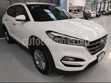 Hyundai Tucson 5P LIMITED TA A/AC. AUT. PIEL F. LED RA-17 usado (2017) color Blanco precio $330,000