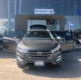 Hyundai Tucson Limited usado (2017) color Tabaco precio $320,000