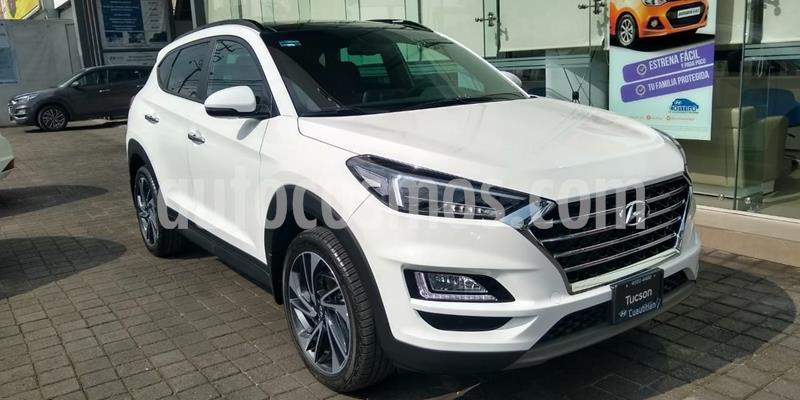Hyundai Tucson Limited Tech usado (2020) color Blanco precio $491,500
