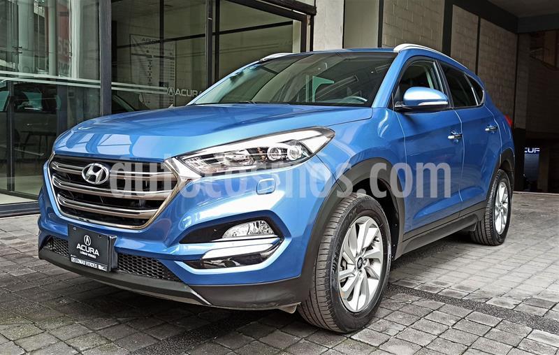 Hyundai Tucson Limited usado (2017) color Azul precio $299,000