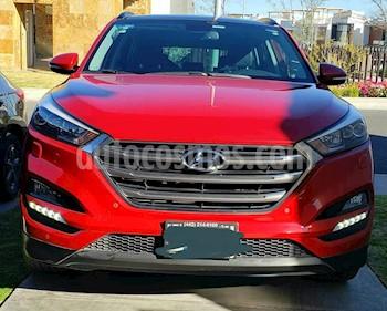 Hyundai Tucson Limited Tech usado (2018) color Rojo precio $399,000