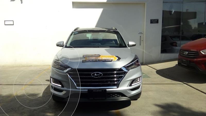 Hyundai Tucson Limited Tech usado (2020) color Plata Dorado precio $455,000