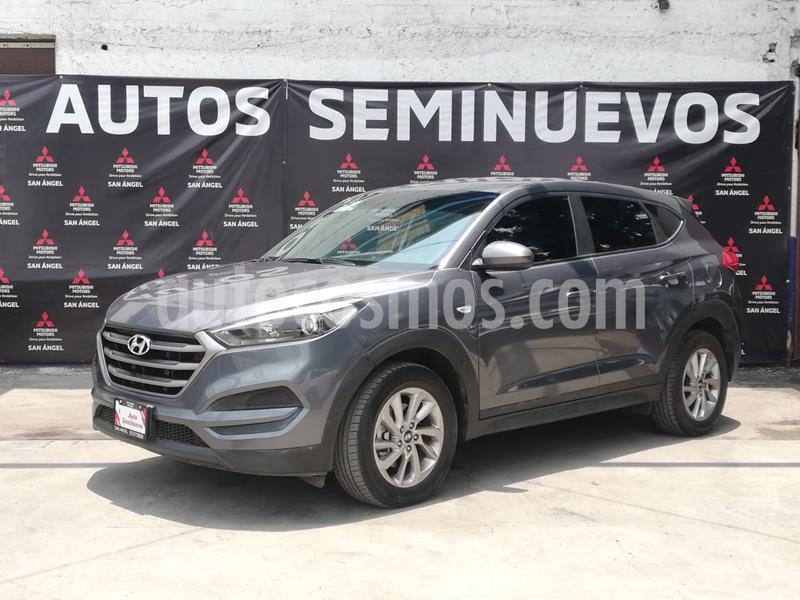 Hyundai Tucson GLS usado (2017) color Gris precio $260,000