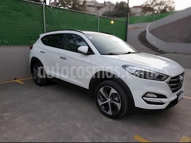 Hyundai Tucson Limited Tech usado (2017) color Blanco precio $340,000