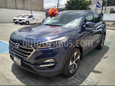 Hyundai Tucson Limited Tech usado (2018) color Azul precio $395,000