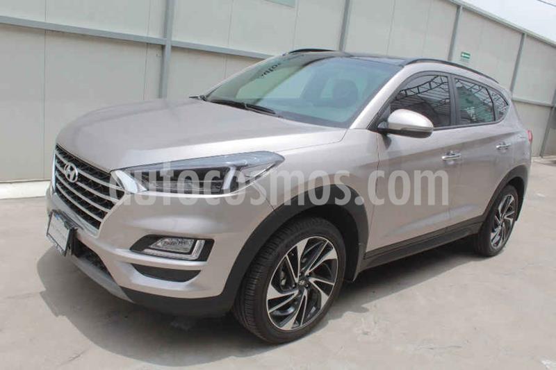 Hyundai Tucson Limited Tech usado (2019) color Dorado precio $425,000
