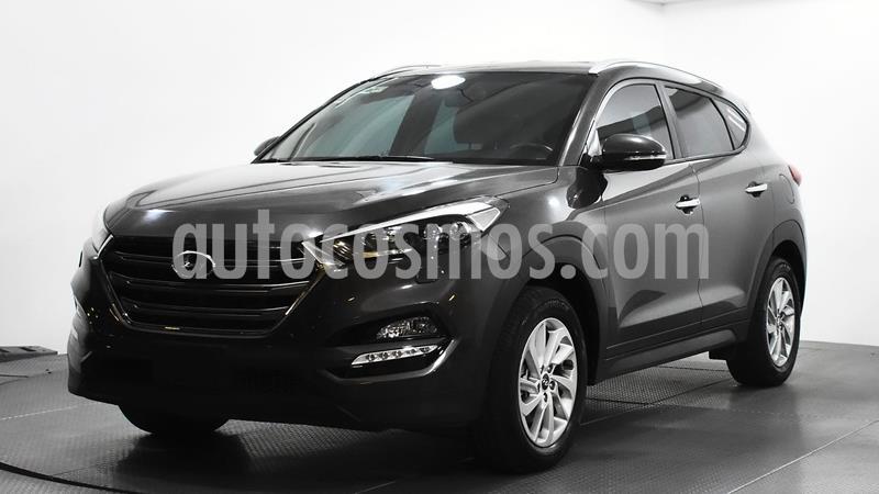 Hyundai Tucson Limited usado (2017) color Cafe precio $295,000