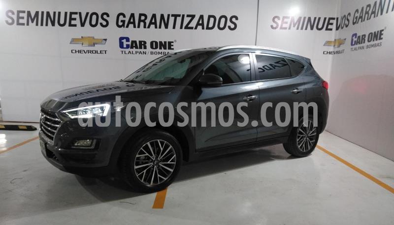 Hyundai Tucson Limited usado (2020) color Gris precio $410,000