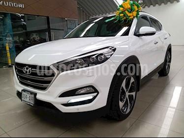 Hyundai Tucson 5p Limited Tech Navi L4/2.0 Aut usado (2017) color Blanco precio $324,000