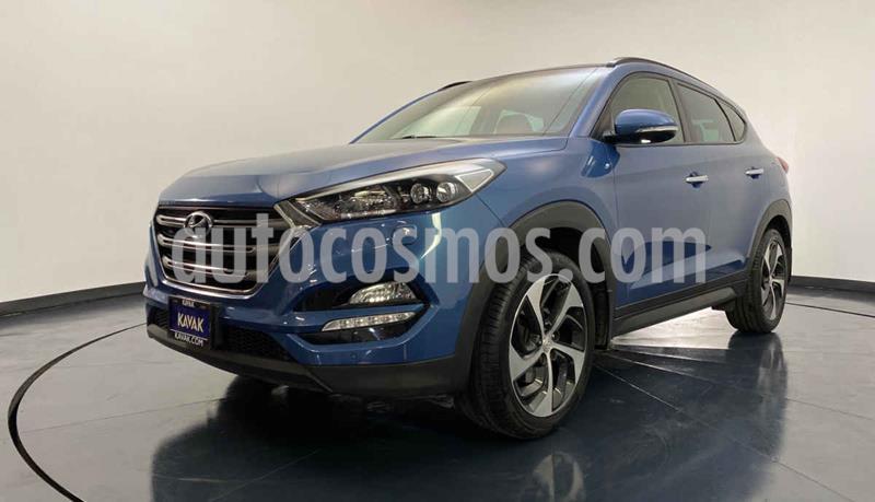 Hyundai Tucson Version usado (2017) color Azul precio $347,999