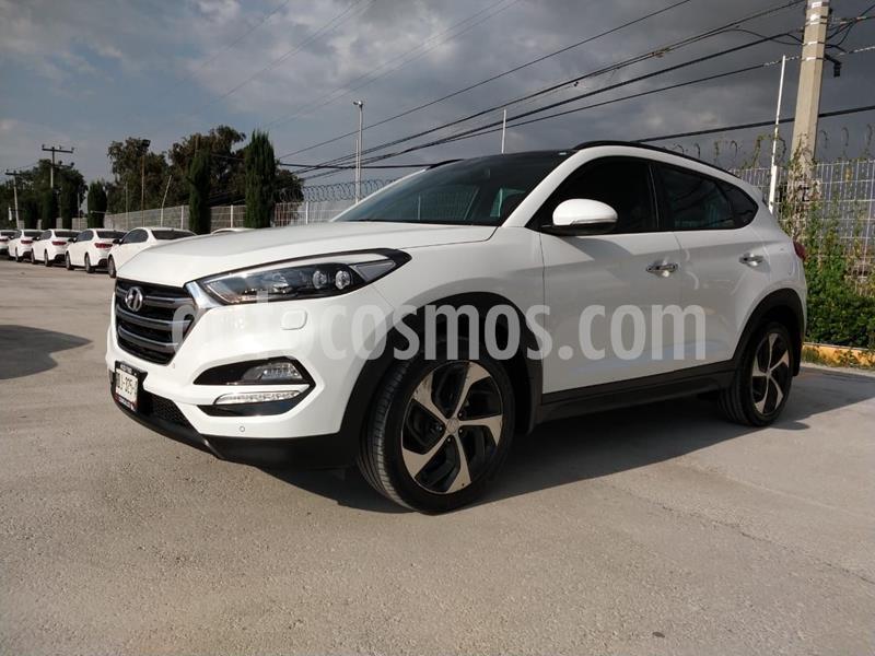 Hyundai Tucson Limited Tech usado (2017) color Blanco precio $320,000