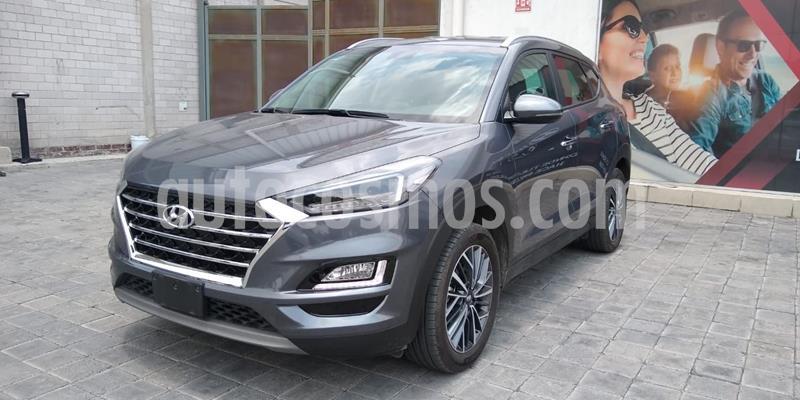 Hyundai Tucson Limited usado (2020) color Gris precio $470,000