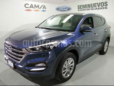 Hyundai Tucson 5p Limited L4/2.0 Aut usado (2018) color Azul precio $319,900