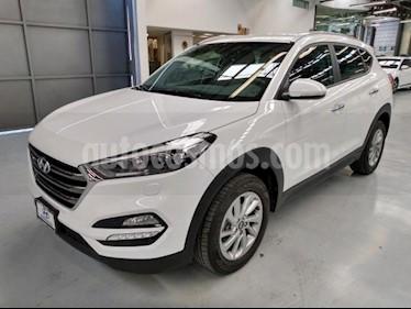 Hyundai Tucson 5P LIMITED TA A/AC. AUT. PIEL F. LED RA-17 usado (2018) color Blanco precio $360,000