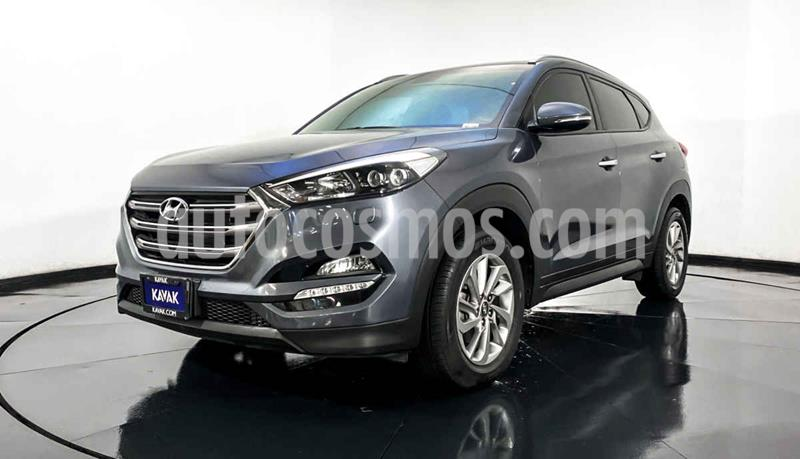 Hyundai Tucson Limited usado (2017) color Gris precio $324,999