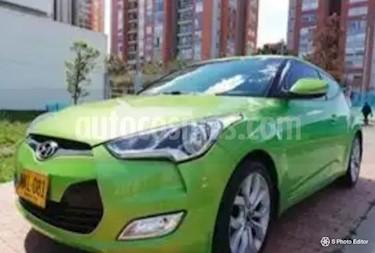 Foto venta Carro usado Hyundai Veloster 1.6 Aut (2013) color Verde precio $42.000.000