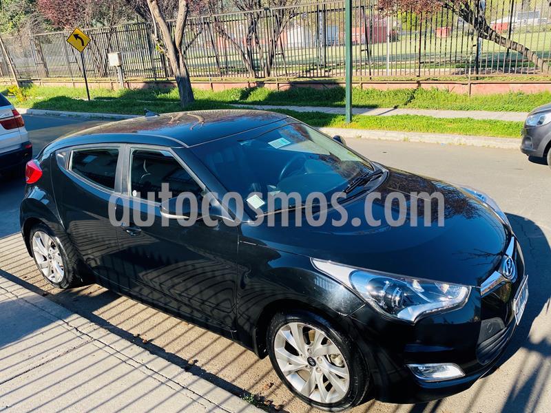 Hyundai Veloster 1.6L GLS usado (2018) color Negro precio $9.300.000