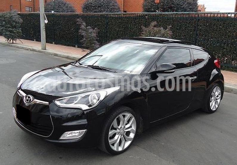 Hyundai Veloster 1.6 usado (2013) color Negro precio $27.000.000