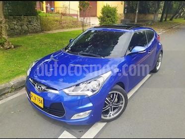 Hyundai Veloster Premium Aut usado (2012) color Azul precio $36.900.000