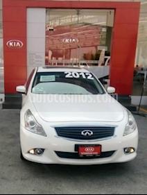 Foto venta Auto Seminuevo Infiniti G Sedan 37 Premium (2012) color Blanco precio $245,000