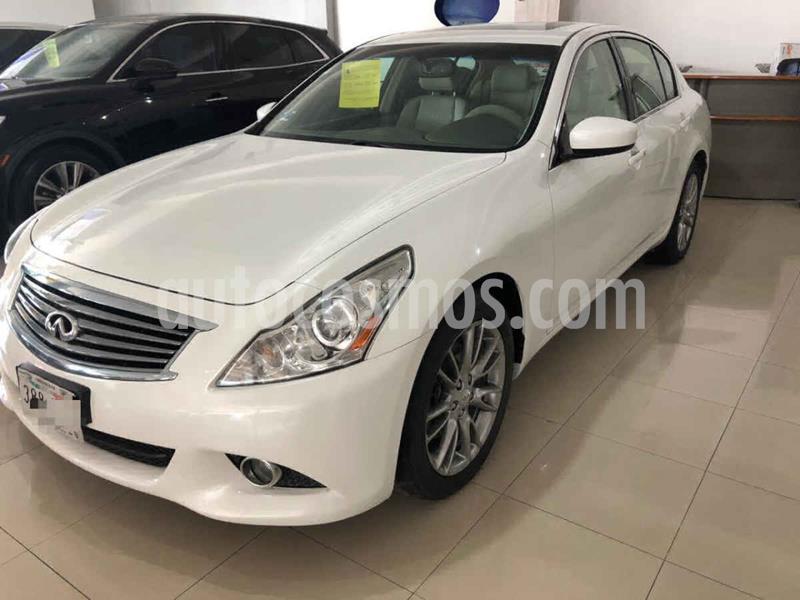 Infiniti G Sedan 37 Premium usado (2012) color Blanco precio $189,900