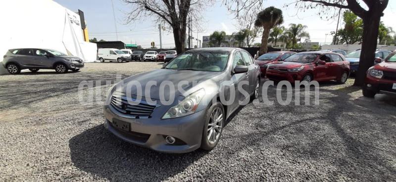 Infiniti G Sedan 4P G37 SEDAN PREMIUM V6/3.7 AUT usado (2012) color Gris precio $160,000