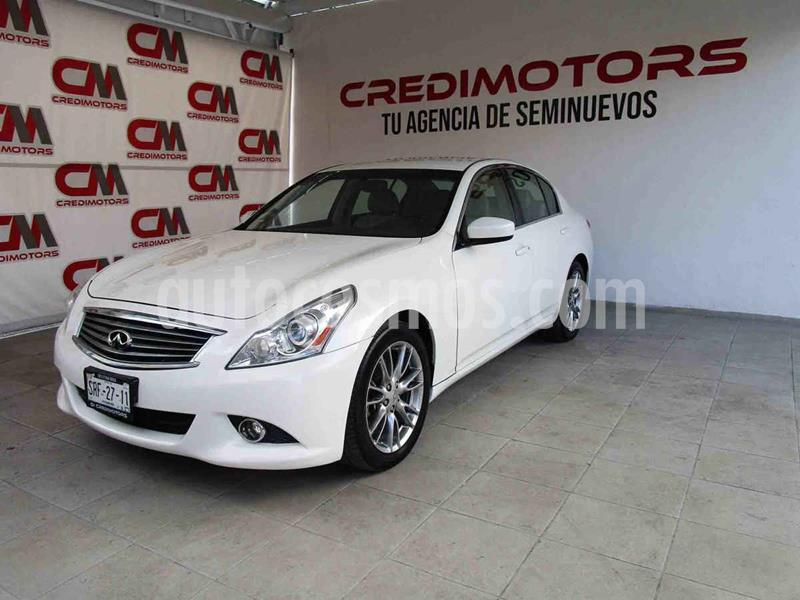 Infiniti G Sedan 37 Premium usado (2012) color Blanco precio $169,000