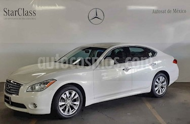 Foto venta Auto usado Infiniti M 37 (2012) color Blanco precio $299,000