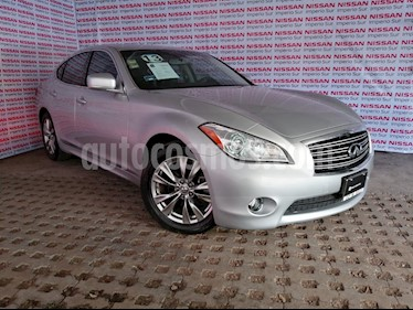 Foto venta Auto usado Infiniti M 37 (2013) color Plata precio $290,000