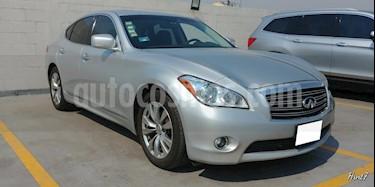 Foto venta Auto usado Infiniti M 4p M56 V8/5.6 Aut (2012) color Plata precio $260,000