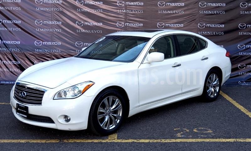 Infiniti M 37 Premium usado (2012) color Blanco precio $190,000