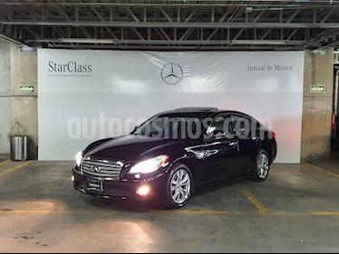 Infiniti M 4p M 37 Premium V6 aut usado (2012) color Negro precio $269,000