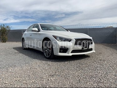 Foto venta Auto Seminuevo Infiniti Q50 3.0L TA 400 HP 4P SPORT DESIGN LINE (2017) color Blanco precio $680,000