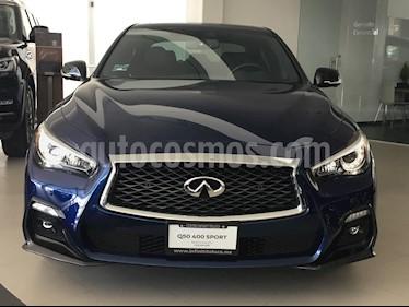 Foto venta Auto usado Infiniti Q50 400 Sport (2018) color Azul Cobalto precio $799,000
