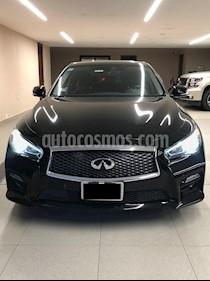Foto venta Auto usado Infiniti Q50 Hybrid (2016) color Negro precio $465,500