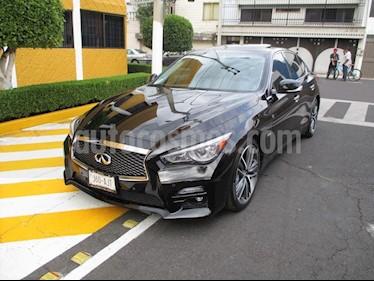 Foto venta Auto usado Infiniti Q50 Hybrid (2016) color Negro precio $349,900