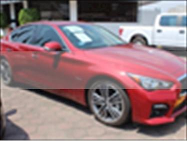 Foto venta Auto usado Infiniti Q50 Hybrid (2017) color Rojo precio $530,000