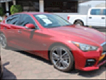 Infiniti Q50 Hybrid usado (2017) color Rojo precio $475,000