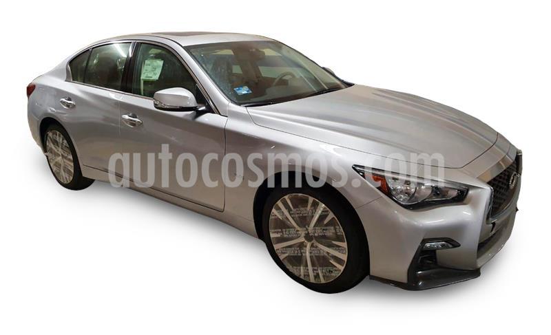 Infiniti Q50 400 Sport usado (2018) color Plata Dorado precio $585,000