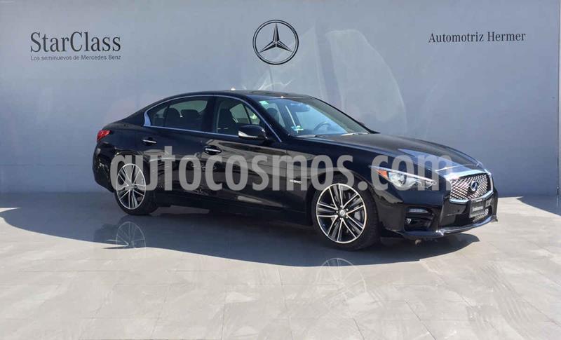 Infiniti Q50 Hybrid Design Line usado (2017) color Negro precio $399,900
