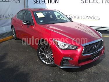 Infiniti Q50 Sport usado (2018) color Rojo Lava precio $580,000