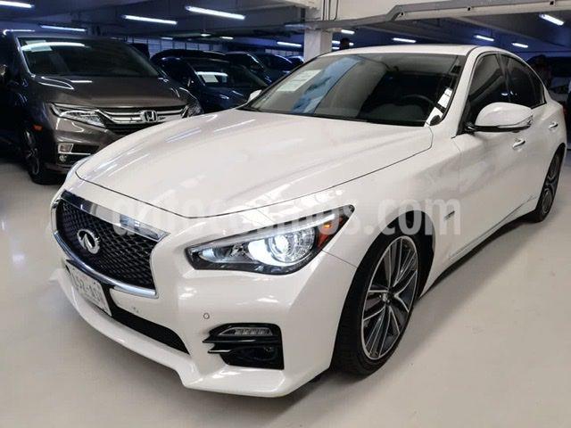 Infiniti Q50 Hybrid usado (2017) color Blanco precio $409,100