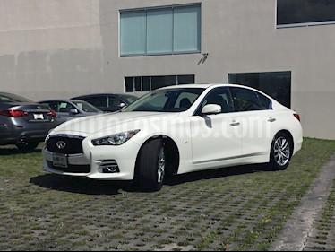 Foto venta Auto usado Infiniti Q50 Perfection (2018) color Blanco Nieve precio $599,000